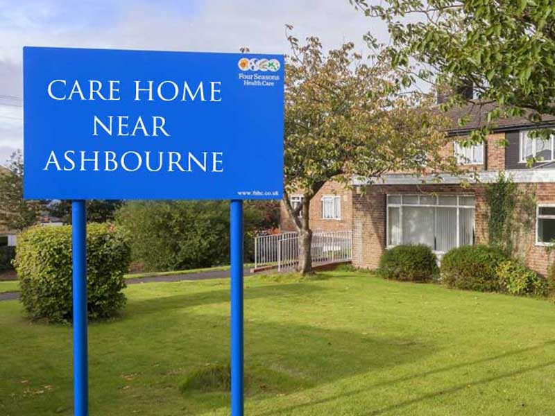care home near ashbourne 1 - If businesses were named to rank better in Google