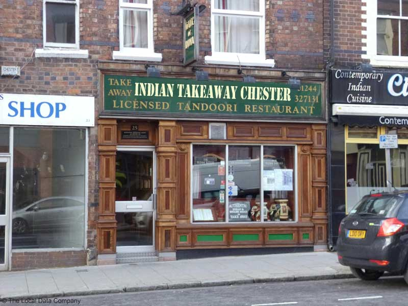 indian takeaway chester - If businesses were named to rank better in Google