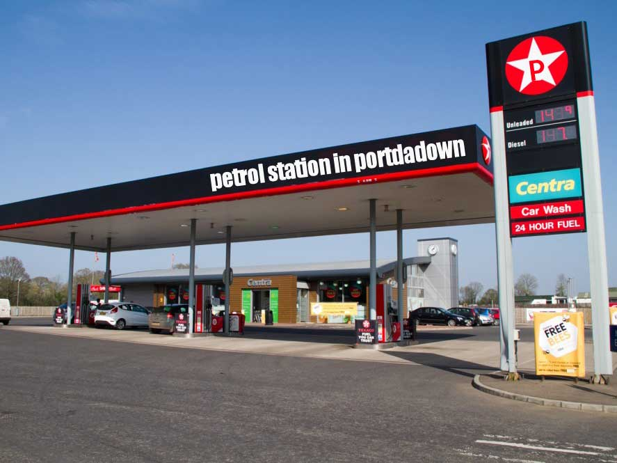 petrol station portadown - If businesses were named to rank better in Google