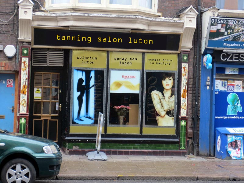 tanning salon luton - If businesses were named to rank better in Google